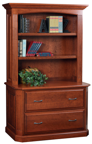 Buckingham Lateral File w/Bookcase