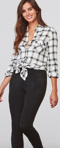 Sylvia Button Down Top
