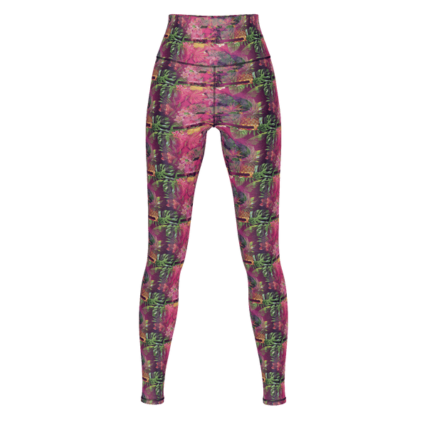 Lifted Galaxy Tropics Yoga Pants