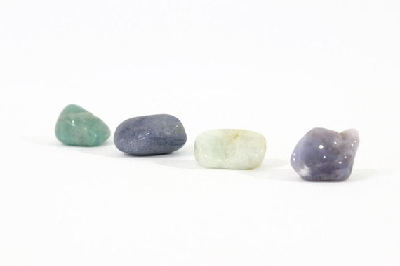 Throat Chakra Crystal Kit