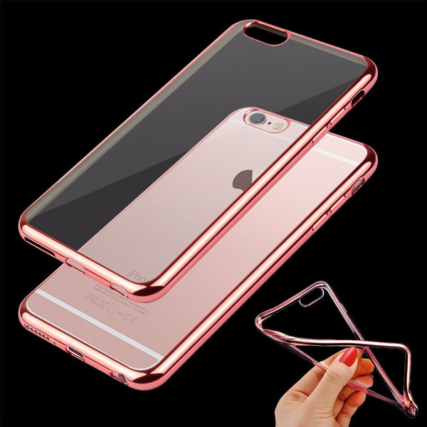 iPhone case Ultra Thin Clear Rubber Case For iPhone