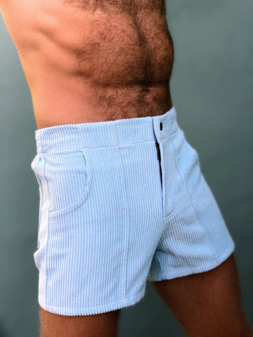 Powder Blue Men's Short