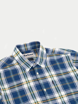 Barbour Jeff Shirt (Deep Blue)2