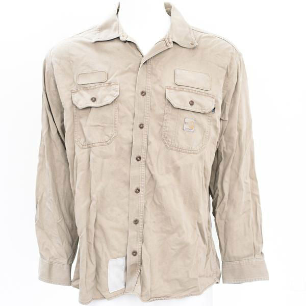 Used Brand Name Flame Resistant Work Shirt - Long Sleeve