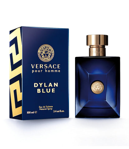 VERSACE DYLAN BLUE for Men by Versace EDT - Aura Fragrances