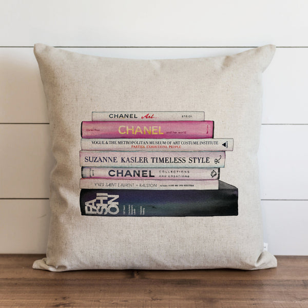 Designer Inspired Book Pillow Cover. - Porter Lane Home