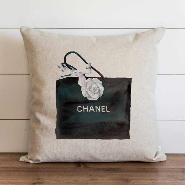 Designer Inspired Purse Pillow Cover. - Porter Lane Home