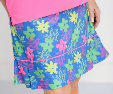 Pleated Par Skort- Color Pop-NOW AVAILABLE!
