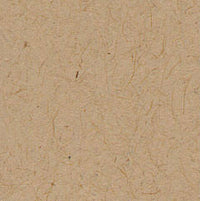 Taupe Brown Recycled 80 lb Petal Card Enclosure, Square 6 1/4""