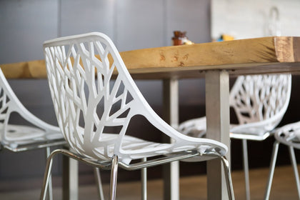 Styling Your Home With Beautiful Black and White Birch Chairs