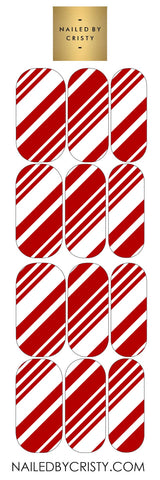 Decals- Candy Cane Stripes