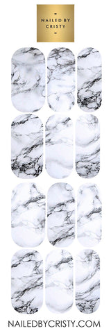 Decals- White Marble