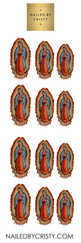 Decals- Virgen Guadalupe CLEAR
