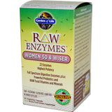 RAW ENZYMES WOMEN 50 & WISER 90 CAPSULES