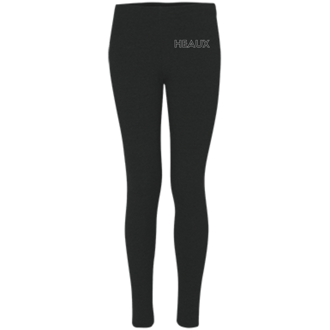 HEAUX Embroidered Leggings