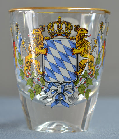 Bavarian Crest Shot Glass - All Steins