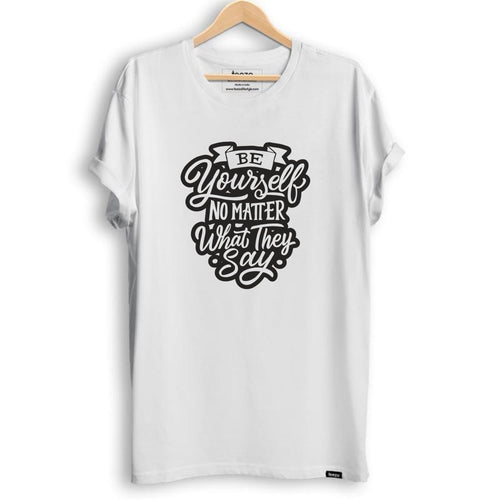 Be Yourself Men's T-shirt - Teezo Lifestyle