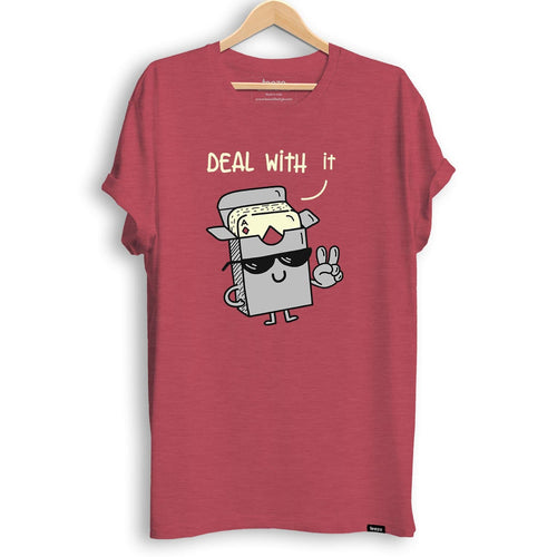 Deal With It Men's T-shirt - Teezo Lifestyle