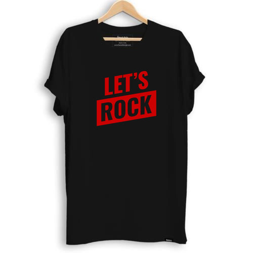 Let's Rock Men's T-shirt - Teezo Lifestyle