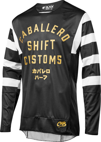 Shift Black Label Black Caballero MX Jersey