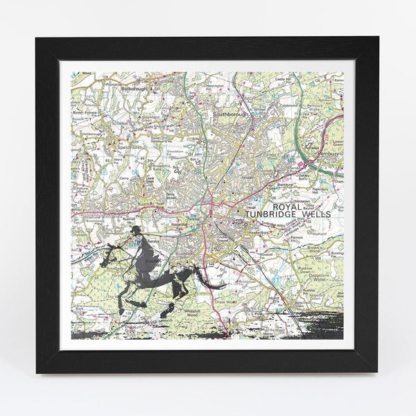 Map Gift - Personalised Horse Riding Adventure Map
