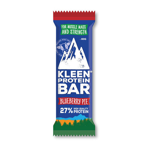 Nutri-Bay KLEEN - Barre de Protéine 27% (60g) - Blueberry Pie