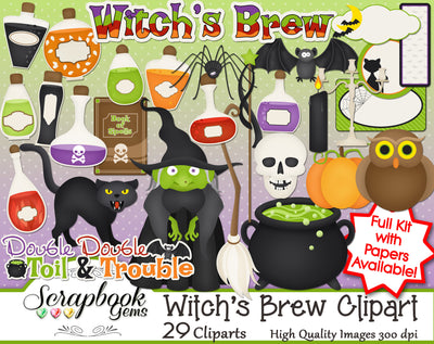 WITCH'S BREW Clipart
