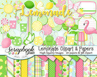 LEMONADE Clipart and Papers