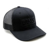 BRNLY Snapback, All Black