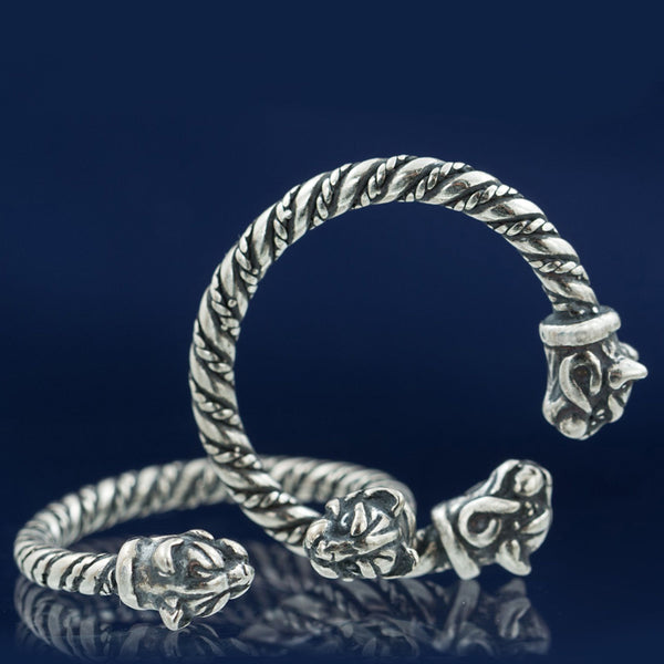 Freya's Cats Sterling Silver Ring