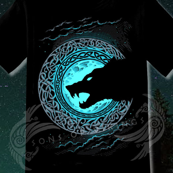 norse wolf t-shirt