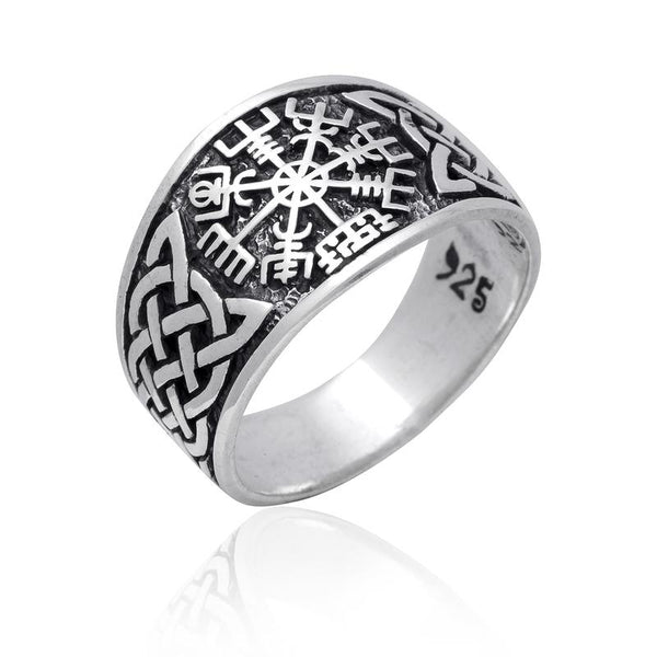 Vegvisir and Knotwork Ring
