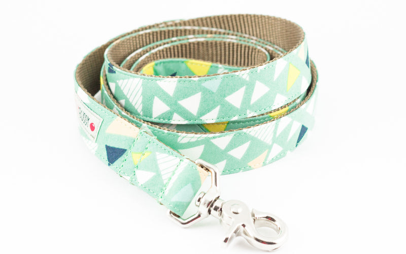 Triangle Print Dog Leash