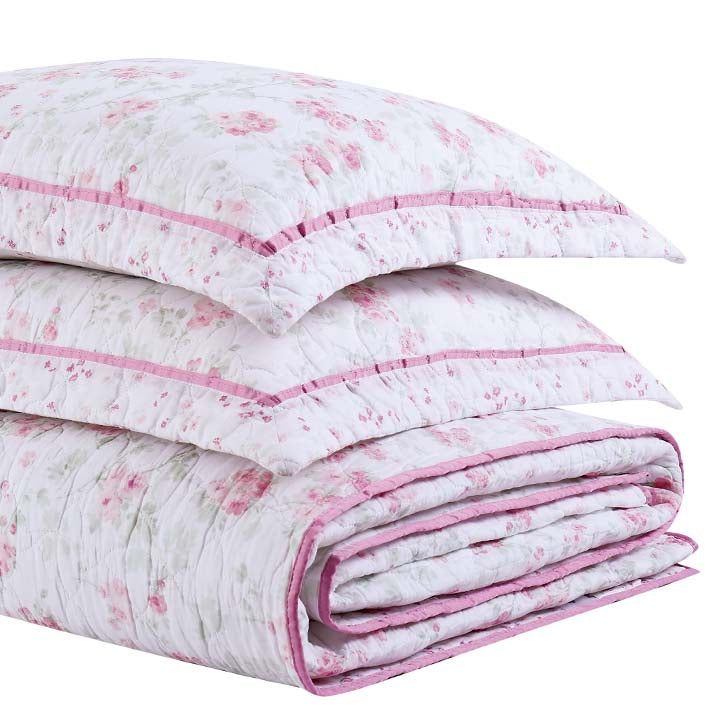Shabby Chic™ Bedding Collection - Cherry Blossom Quilt Set - Online Exclusive