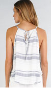 Blue & White Spring Top