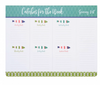 Fresh Catch Meal Planner Pad