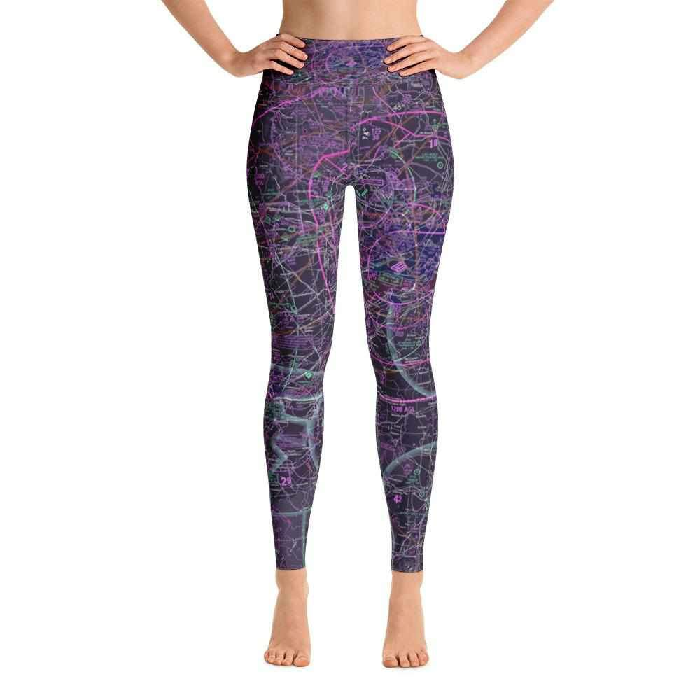 Montreal Sectional Yoga Leggings (Inverted)