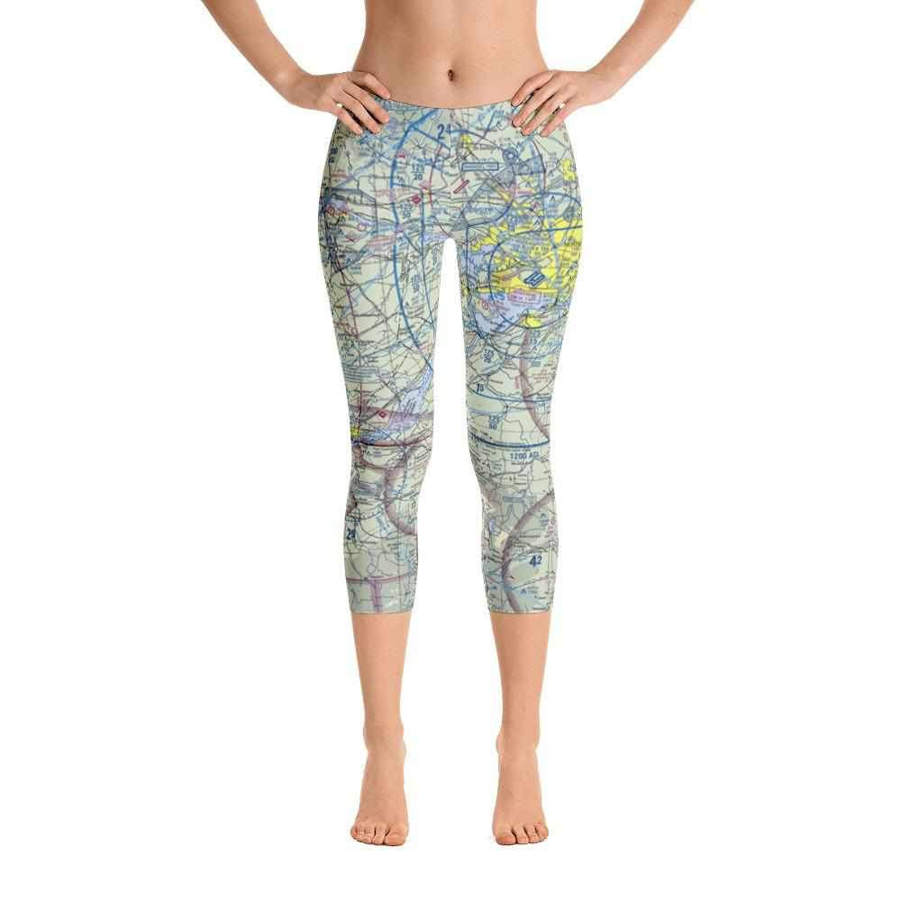 Montreal Sectional Capri Leggings