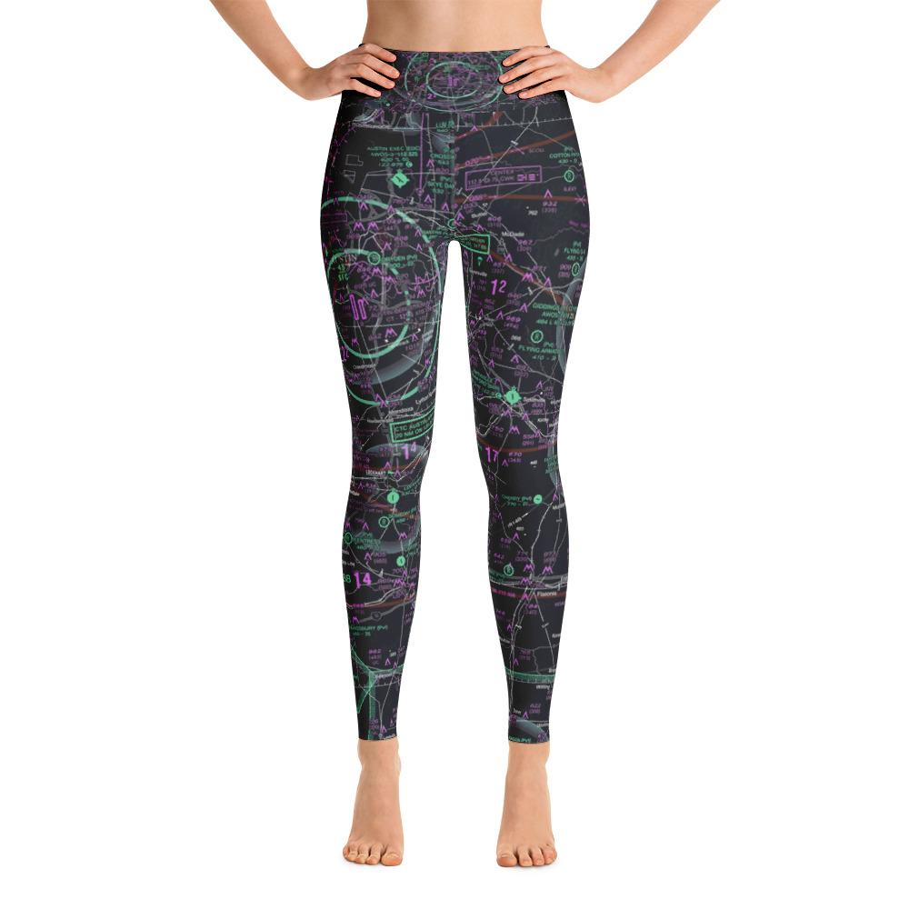 Austin Sectional Yoga Leggings (Inverted) - RadarContact - ATC Memes