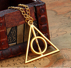 Deathly Hallows Charms Pendant Necklaces - Pretty Little Owls