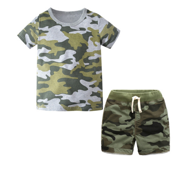 Camouflage Outfit - Apollo & Wynn
