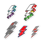 Bolt  Sticker Sheet