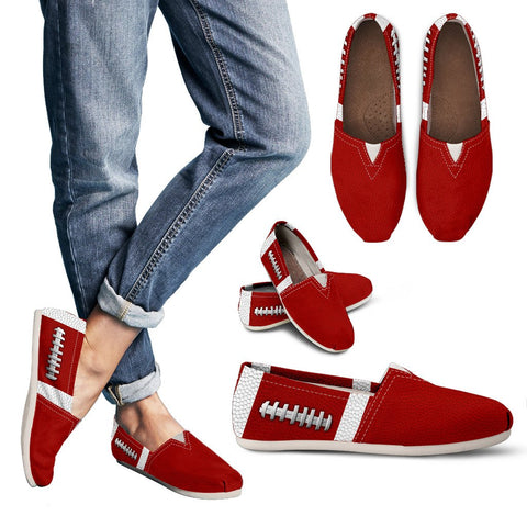 Football Red Premium Casual Shoes