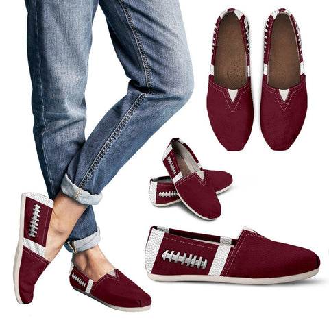 Football Maroon Premium Casual Shoes