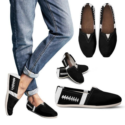 Football Black Premium Casual Shoes