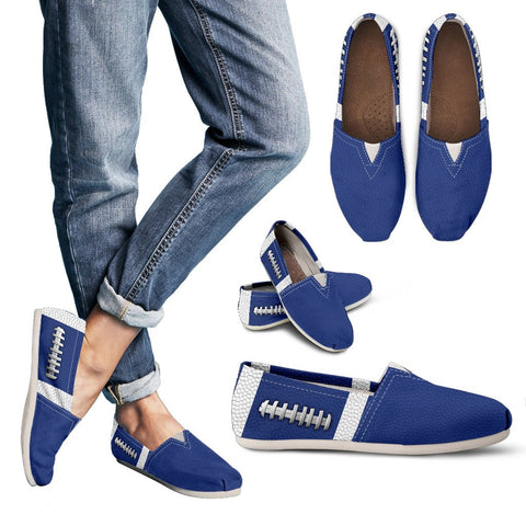 Football Blue Premium Casual Shoes