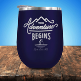 Paddleboarding Adventure Begins Stemless Wine Cup