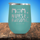 Hockey Mom Nurse Awesome Stemless Wine Cup