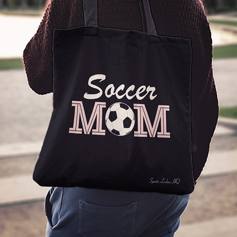 Soccer Mom Linen Tote Bag AL77
