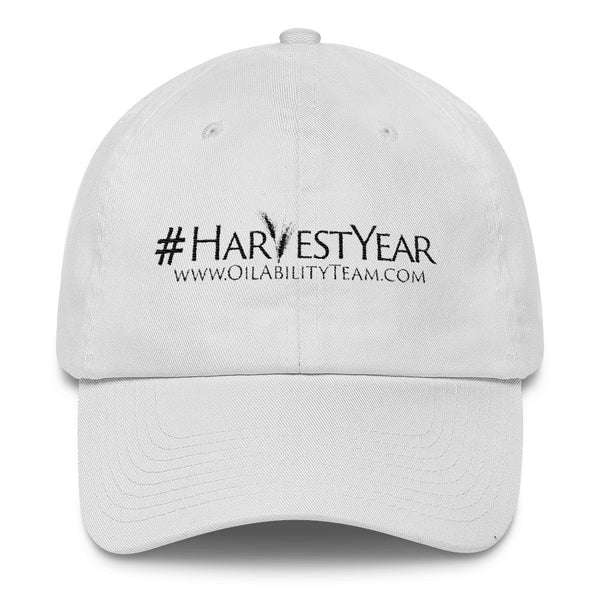 #HarvestYear Hat White